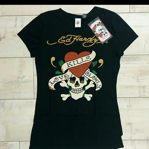 Ed Hardy Love Kills Slowly Tee